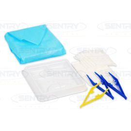 BASIC DRESSING PACK WITH GAUZE SWABS product photo