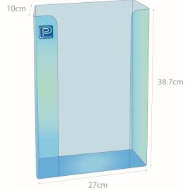 GLOVE DISPENSER THREE TIER ACRYLIC product photo