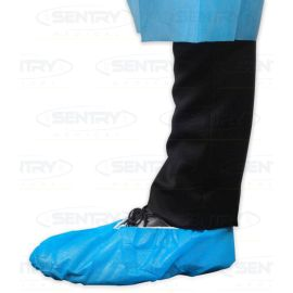 OVERSHOES FABRIC NON SKID BLUE product photo