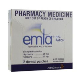 EMLA PATCH 2's  product photo