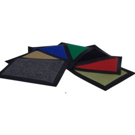 FLOOR MAT STAYDRY LOW PROFILE BLUE 60x90cm product photo