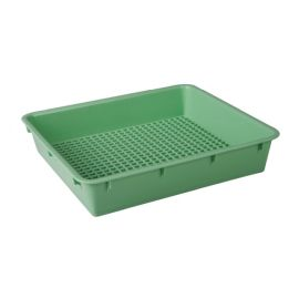 TRAY DRESSING AUTOPLAS 270x150x40mm GREEN product photo