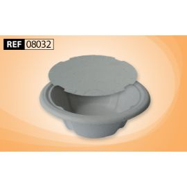 COMMODE DISPOSABLE CARDBOARD BOWL 3L (120) product photo