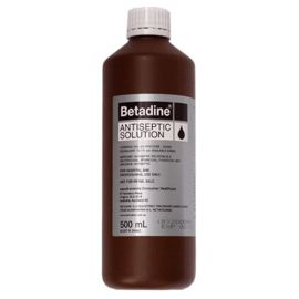 BETADINE ANTISEPTIC 500ml product photo