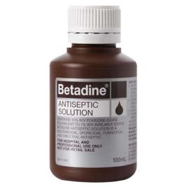 BETADINE ANTISEPTIC 100ml product photo