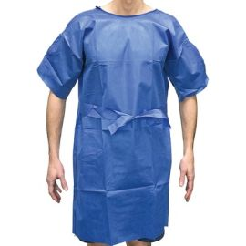 GOWN PATIENT DISPOSABLE EASY-WRAP MEDIUM (100) product photo