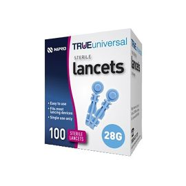 LANCET TRUE UNIVERSAL 28g SAFETY (100) product photo