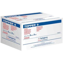 GAUZE SWABS 5x5cm TOPPER 8 5's ST product photo