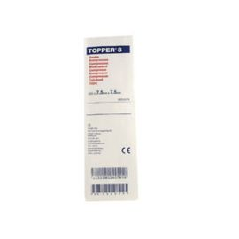 GAUZE SWABS 7.5x7.5cm TOPPER 8 2's ST  product photo