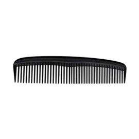 HAIR COMB STANDARD 125mm BLACK (5) product photo
