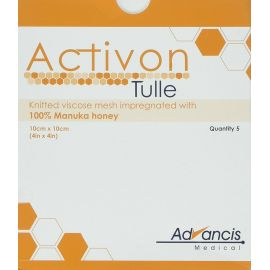 ACTIVON HONEY 10x10cm TULLE product photo