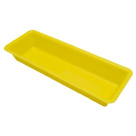 TRAY PLAIN YELLOW 500ml ST (100) product photo