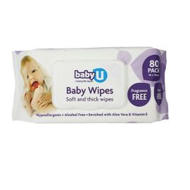 WIPES BABY FRAGRANCE FREE product photo