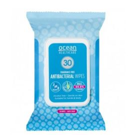 WIPES OCEAN ANTIBAC 14x19cm product photo
