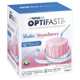 OPTIFAST VLCD SHAKE STRAWBERRY 53g (6x12) product photo