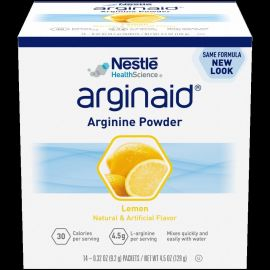ARGINAID POWDER LEMON 9.2g product photo