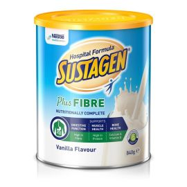 SUSTAGEN ACTIVE VANILLA PLUS FIBRE 840g product photo