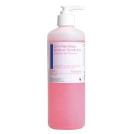 CHLORHEX 4% SURGICAL SCRUB 500ml product photo