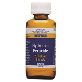 HYDROGEN PEROXIDE 20vol 6% 100ml product photo