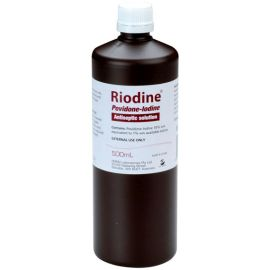 POVIDONE IODINE SOLUTION 500ml product photo