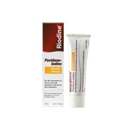 POVIDONE IODINE OINTMENT 25g product photo