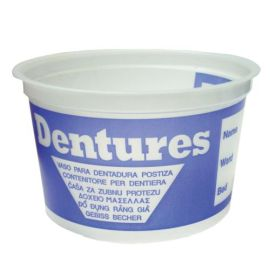DENTURE CUP PLASTIC  product photo