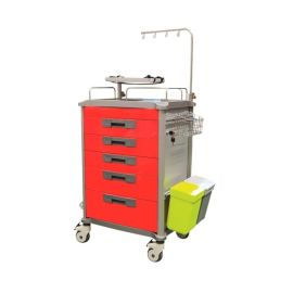 EMERGENCY TROLLEY RED  product photo