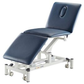 EXAM COUCH 3 EQUAL SECT ION 71cm ELECT NAVY BLUE product photo