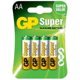 BATTERY AA ALKALINE (4) product photo