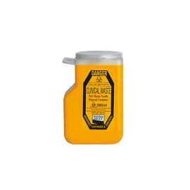 SHARPS COLLECTOR 500ml P&I product photo