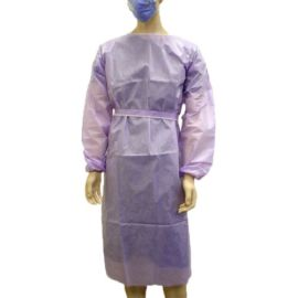 OWEAR ONCOLOGY GOWN SOF-CUFF PURPLE product photo